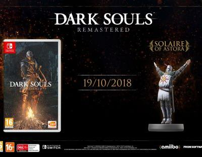 Dark Souls Remastered hits Nintendo Switch in October