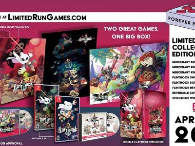 Flinthook, Mercenary Kings Physical Release Period Announced