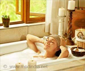 Hot Bath 90 Minutes Before Bedtime promotes quality Sleep