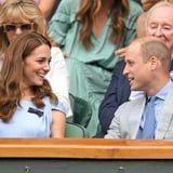 That's Love! Prince William and Kate Middleton Show Off Their Sweet Romance at Wimbledon