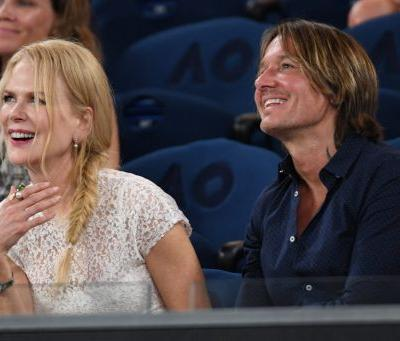 Nicole Kidman and Hubby Keith Urban Pack On the PDA at the Australian Open