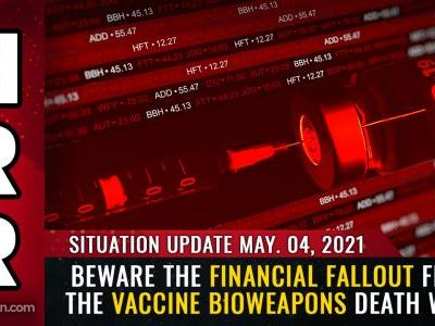 Beware the financial FALLOUT from the vaccine bioweapons death wave. collapse of tax revenues, pensions, real estate values and the dollar all inevitable