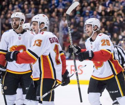 Pettersson scores in shootout, Canucks best Flames 4-3