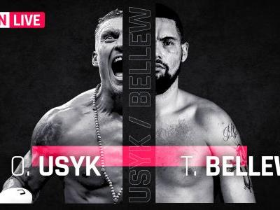 Usyk vs. Bellew results, live updates and round-by-round scoring