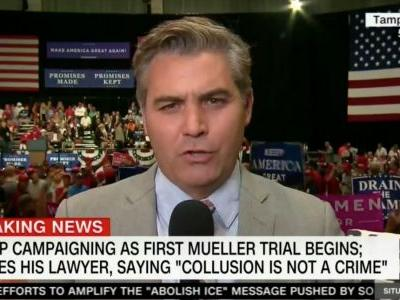Jim Acosta: I'm Worried 'Hostility Whipped Up by Trump' Against Media Will End With Someone Hurt
