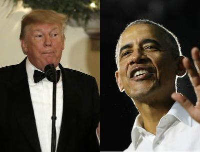 Trump's 2019 New Year's Tweet Vs. Obama's Have Majorly Different Focuses