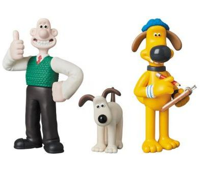 Medicom Toy Issues Realistic Wallace & Gromit Collectibles
