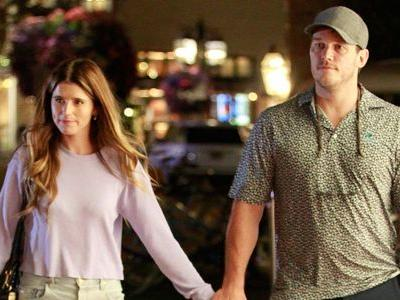 Chris Pratt and Katherine Schwarzenegger Hold Hands During Their Romantic Yet Casual Movie Date Night in L.A