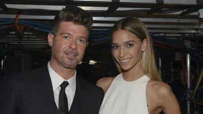 Robin Thicke And April Love Geary Expecting Their First Child Together