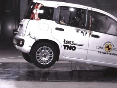 Here's What the Fiat Panda's Zero-Star Safety Rating Looks Like