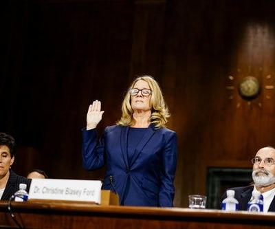"""Donald Trump Said He Treated Christine Blasey Ford With """"Respect"""" In His '60 Minutes' Interview"""