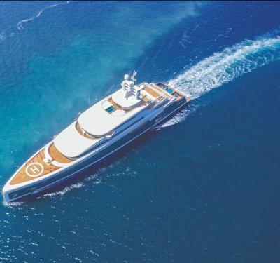 This $145 million superyacht just won a major award for its ultra-luxurious interior at the Monaco Yacht Show - here's a look inside