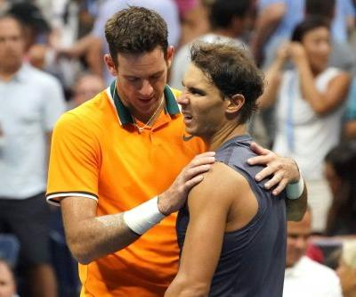 Rafael Nadal bows out early as del Potro rolls into US Open final