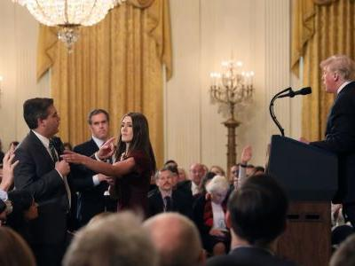 CNN says Trump has 'gone too far' and is 'un-American' after heated exchange with Acosta