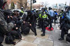 Police Arrest Dozens of Protesters During Trump Inauguration Protests