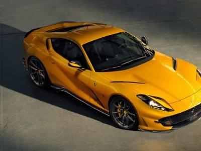 Tuner Novitec Has Unleashed The Ferrari 812 Superfast's 'Angry Face'