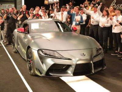 First Production 2020 Toyota Supra Sells For R30 Million At Auction