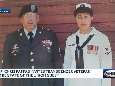 Pappas invites transgender veteran to be State of the Union guest