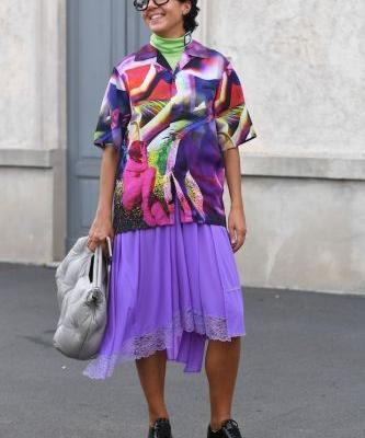 Every Jaw-Dropping Street Style Look from Milan Fashion Week