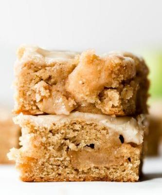 Brown Butter Apple Blondies