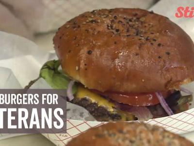 Homeless veterans get mouth-watering surprise just in time for holidays