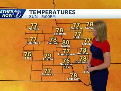 Warm today, storm chances return overnight