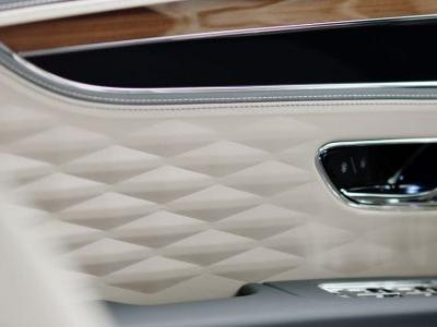 The New Bentley Flying Spur Has Weird 3D Textured Leather