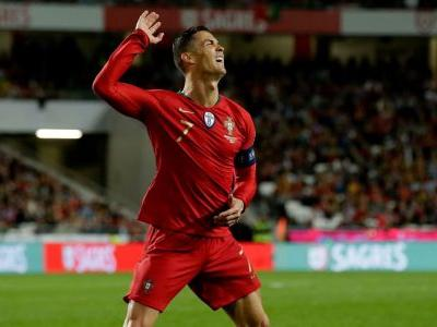 Portugal draws with Ukraine in Cristiano Ronaldo's return