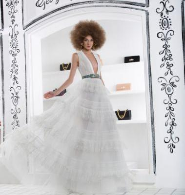 Be 'white Haute' in GEORGES HOBEIKA for Spring-Summer 2019!!