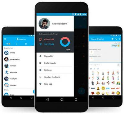 Microsoft Launches Skype Lite For India