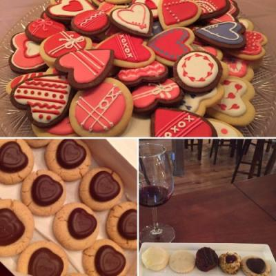 Feb 17: Valentine's Cookie and Wine Pairing