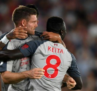 Crystal Palace 0 Liverpool 2: Milner and Mane secure victory at Selhurst Park