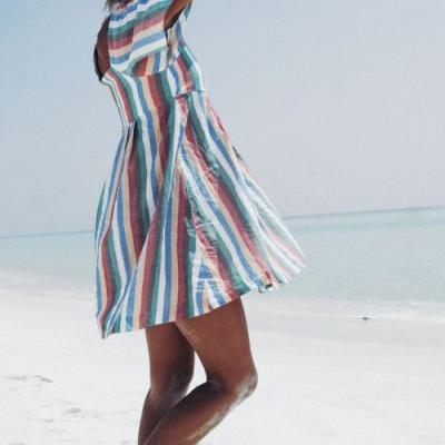 This dress.oh my, it was love at first stripe.I get