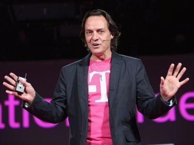 SoftBank is reportedly making another run at T-Mobile - and T-Mobile is up 5%