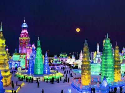 China's Ice City Harbin to Hold World-class Ice & Snow Carnival