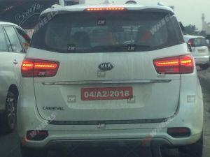 Kia Carnival MPV Spied Testing In India Ahead Of 2020 Launch