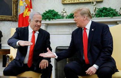 Israeli PM Netanyahu says he'll name Golan settlement after Trump