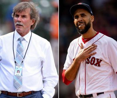 Dennis Eckersley is done with David Price after plane incident