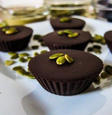 Maple Pumpkin Seed Butter Cups
