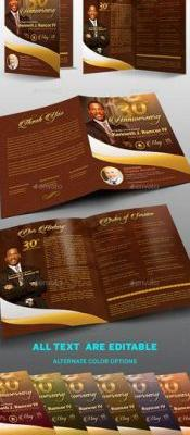 30 Best Of Church Anniversary Program Template Pictures