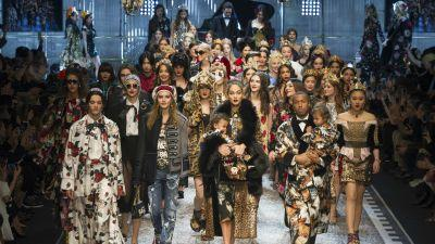 Dolce & Gabbana Continues to Up Its Own Ante With Millennials, Bloggers and Celebrity Offspring for Fall