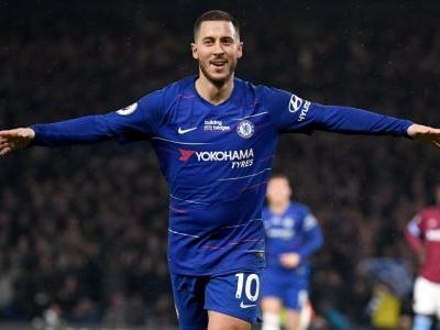 Hazard a perfect 10 in single-handedly leading Chelsea past West Ham