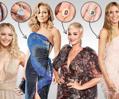 The best celebrity engagement rings from 2019