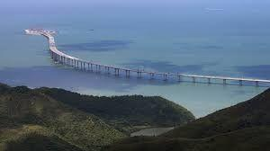 World's longest sea-crossing bridge opens between Hong Kong and mainland China