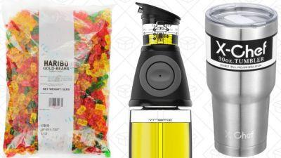 Today's Best Deals: Gummi Bears, Olive Oil, APC Surge Protector, and More