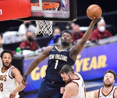 Pelicans' Zion Williamson, who is 6-foot-7, says playing point guard 'feels natural'