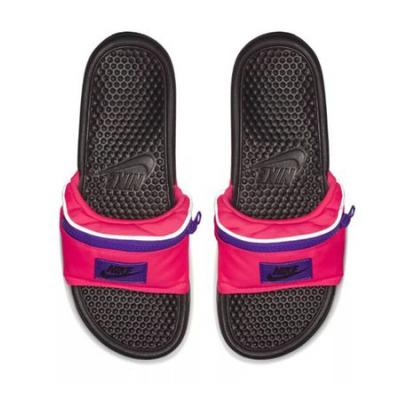 Nike's Fanny Pack Slides Just Took Hands Free To A Whole New Level
