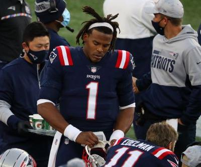 Patriots make decision on Cam Newton's future after ugly benching