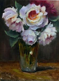 Ice Roses by artist Pat Meyer