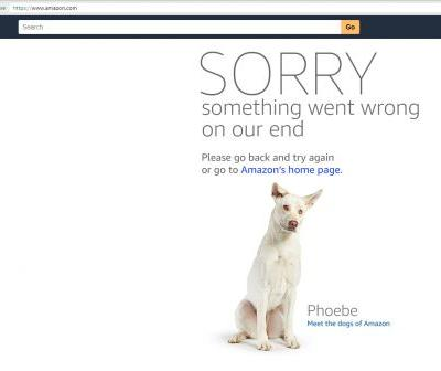 Amazon Prime Day event starts off rocky with widespread site errors